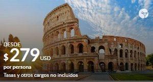 5 Maravillas del Mediterráneo Desde 279$